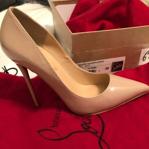 Christian Louboutin Nude So Kate 120